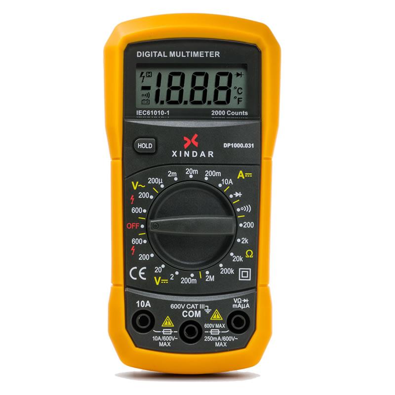 Multímetro Digital Compacto DP1000.031 | | Xindaronline