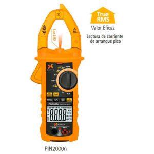 Pinza-Amperimétrica-xindar-PIN2000n-Multímetro-Digital-Verdadero-Valor-Eficaz