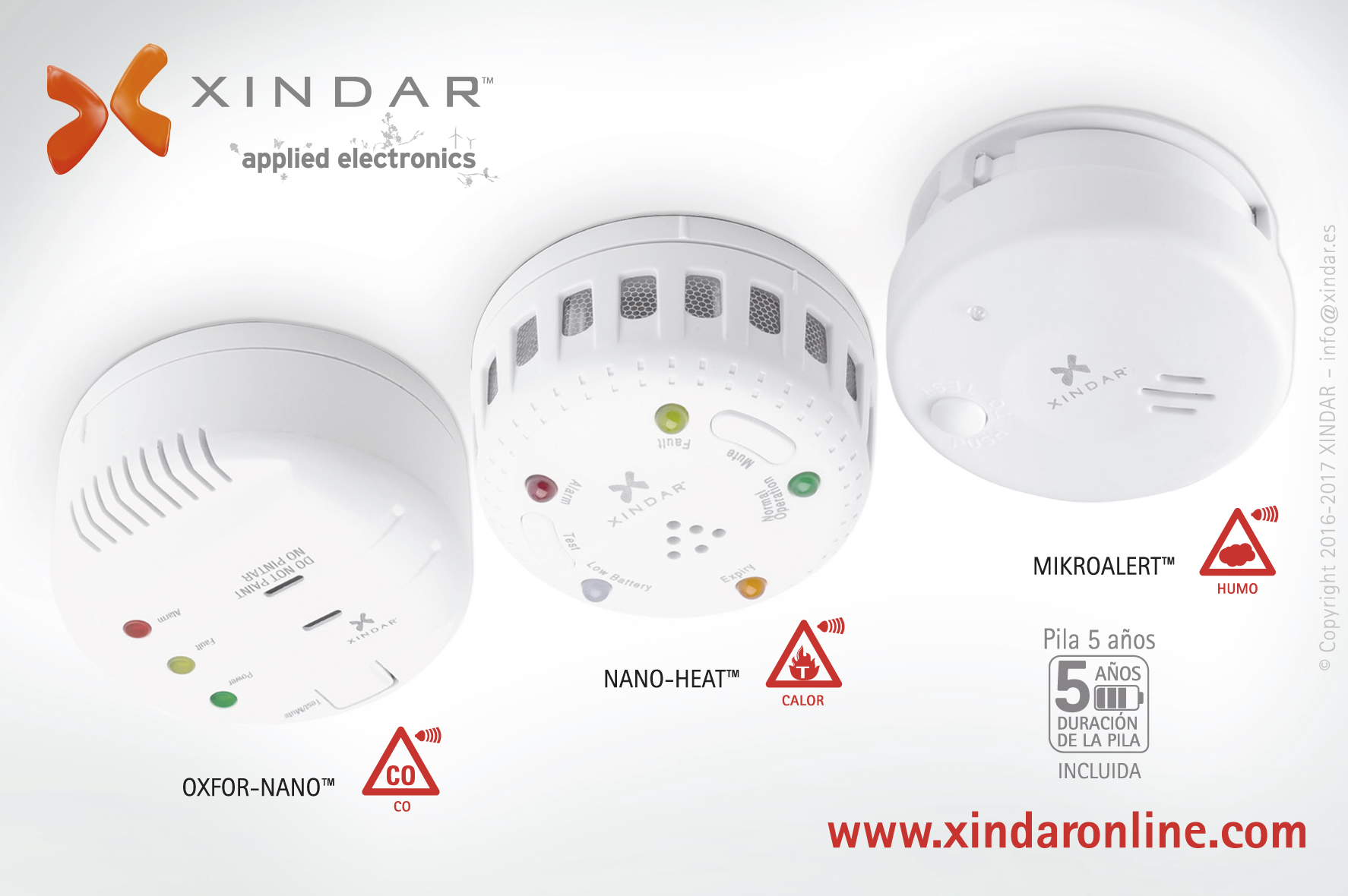 NANO Series – SEGURIDAD XINDAR